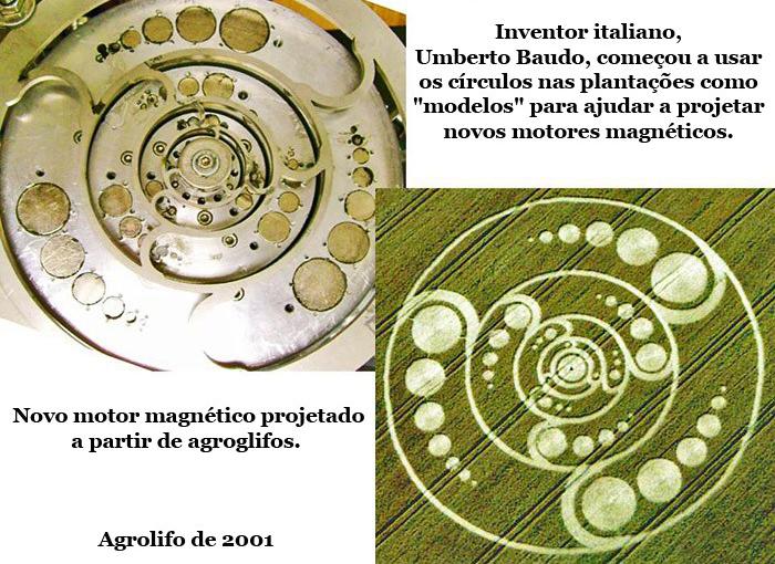 7e9664f7a23 Científico italiano utiliza diseños Crop Circle para crear motores ...