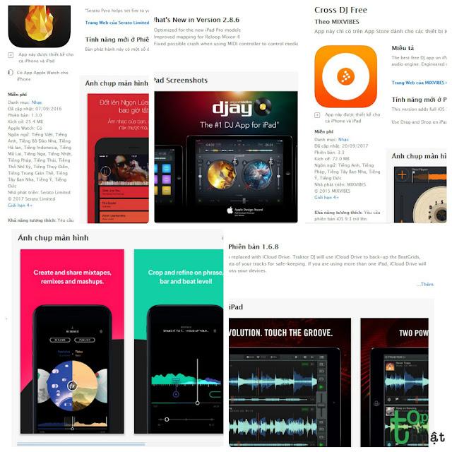 Trở thành DJ với top 5 ứng dụng DJ cực thú vị trên iOS