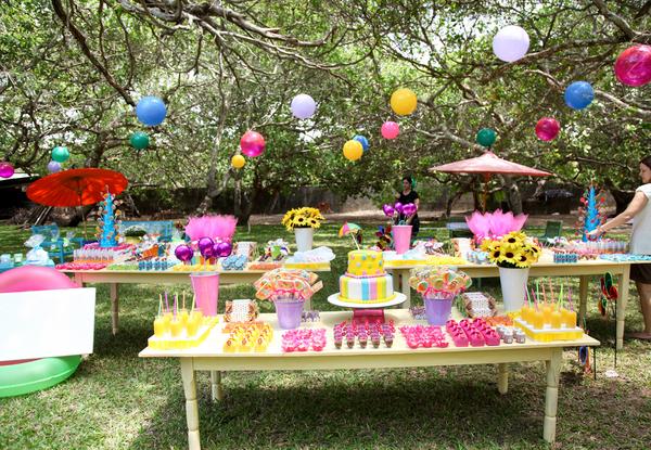 Festa ao ar livre: ideias criativas para receber os