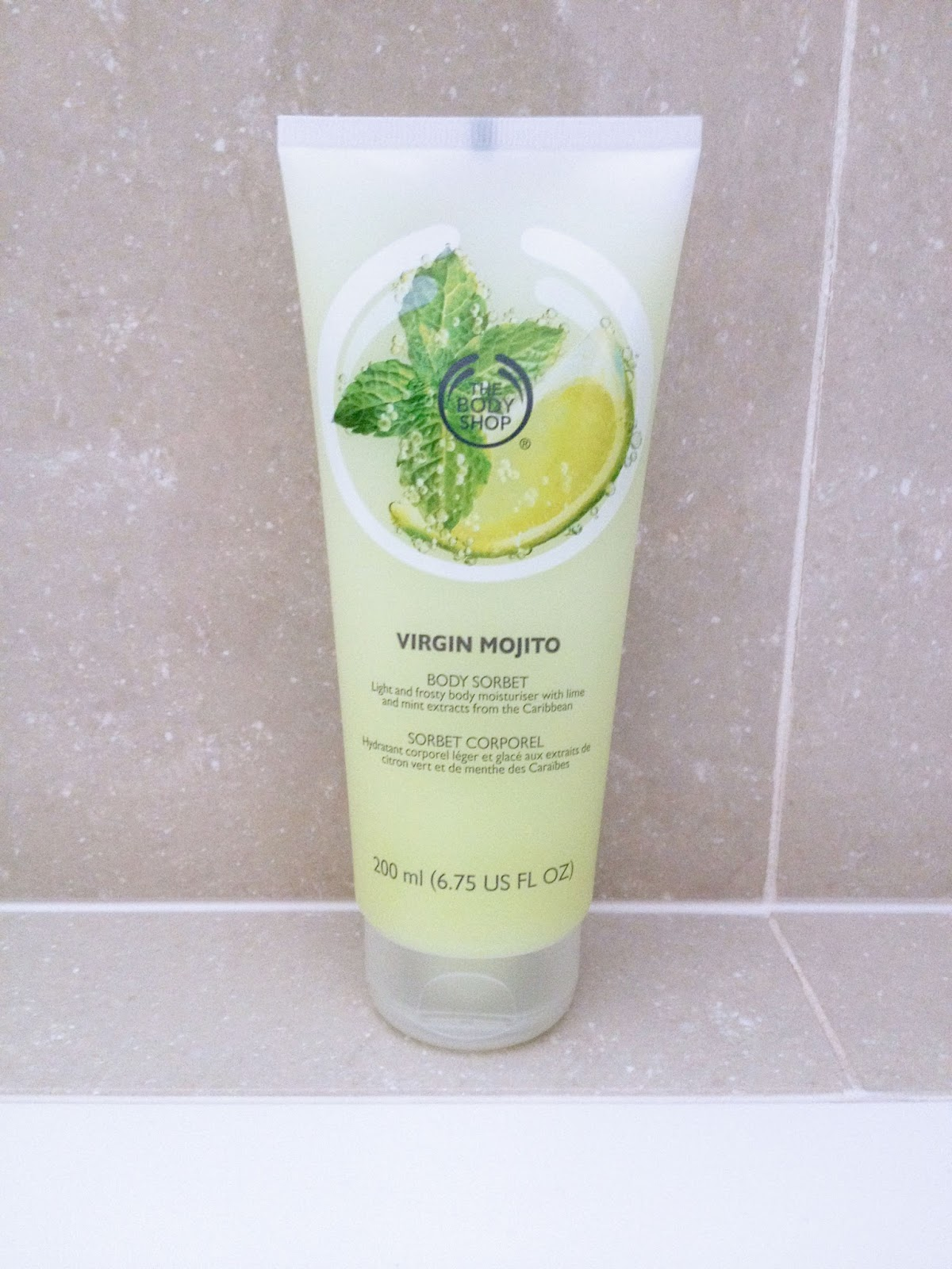 The Body Shop Virgin Mojito Body Sorbet