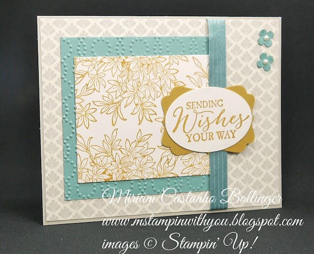 Miriam Castanho-Bollinger, #mstampinwithyou, stampin up, demonstrator, ccmc, get well, timeless elegance dsp, awesomely artistic, butterfly basics stamp set, extra large oval punch, decorative label punch, su