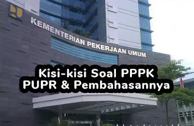 Kisi-kisi Soal P3K (PPPK) PUPR