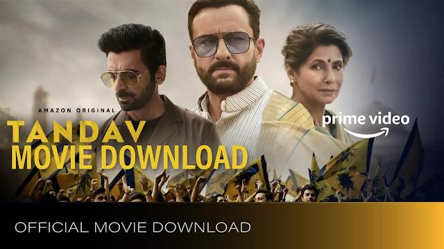 Tandav Full Movie 1080p 720p 480p Download | Tandav Full Movie Review | Tandav Movie Trailer