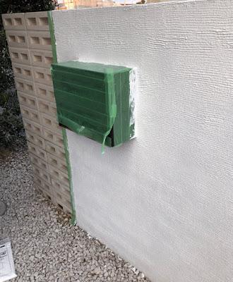 錆びたポストと外構をDIYで再塗装 レビュー