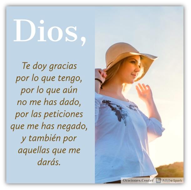Oración para Agradecer a Dios por Todo - Él es Bueno para Dar lo que te Conviene