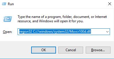 Télécharger Msvcr100d.dll Fichier Gratuit Installer