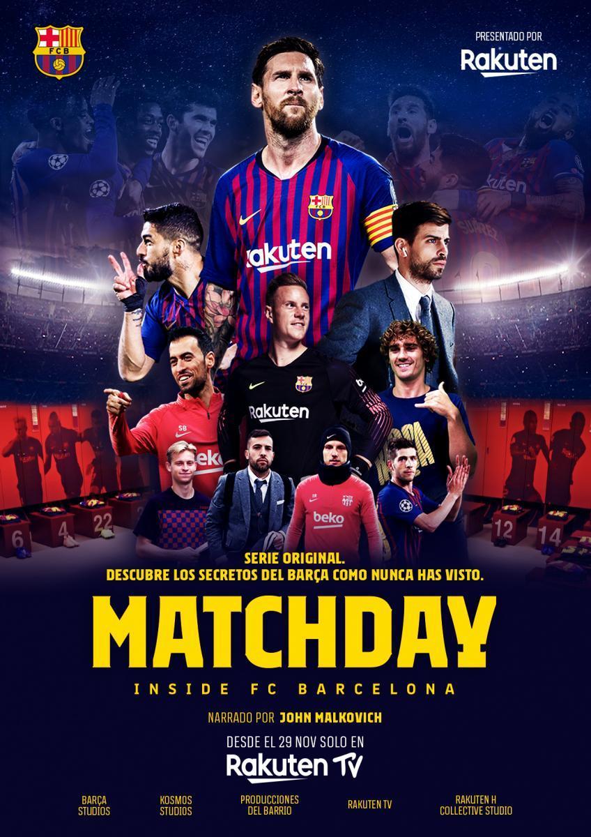 Matchday: Inside FC Barcelona Temporada 1 Castellano 1080p