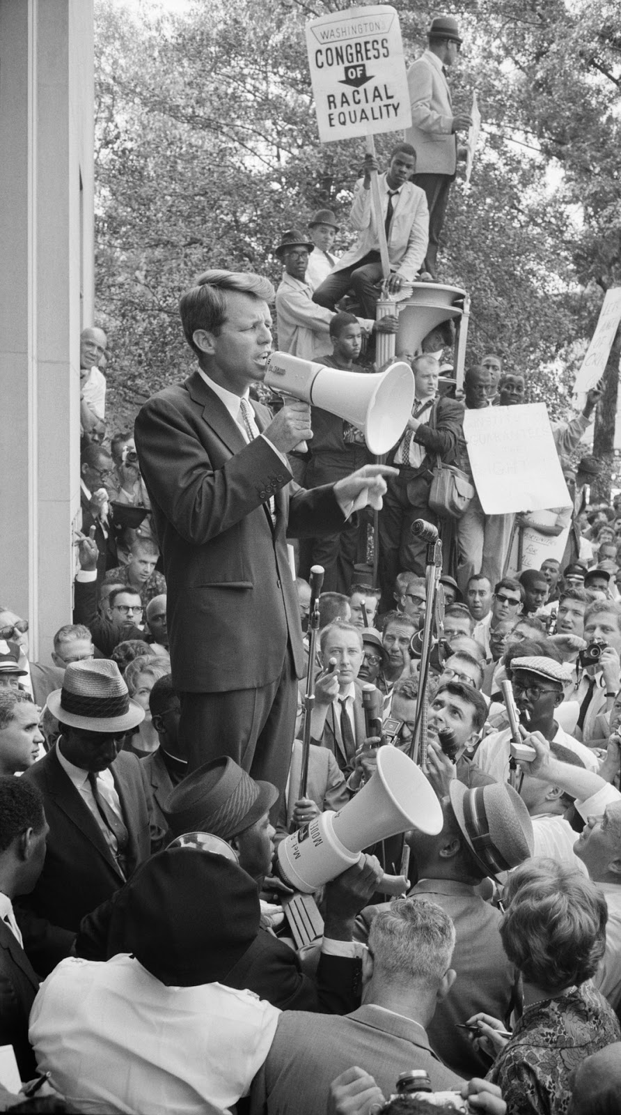 Speech by Robert Kennedy.