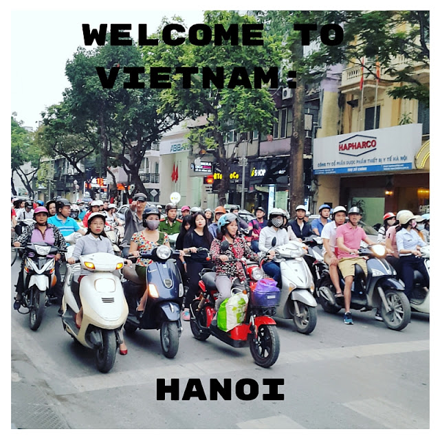 travel blogger hanoi