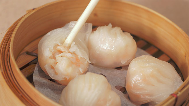 Steamed Shrimp Dumpling Har Kau