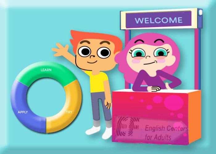 Belajar bahasa inggris EF Adult