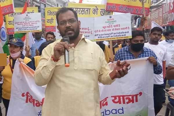 news-save-faridabad-nirbhay-yatra-in-city