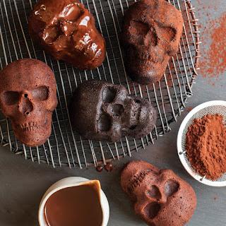 Dying For Chocolate Haunted Skull Dark Chocolate Cakes