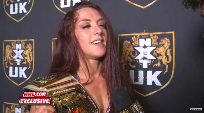 NXT Takeover : Kay Lee Ray feels no pity for Toni Storm