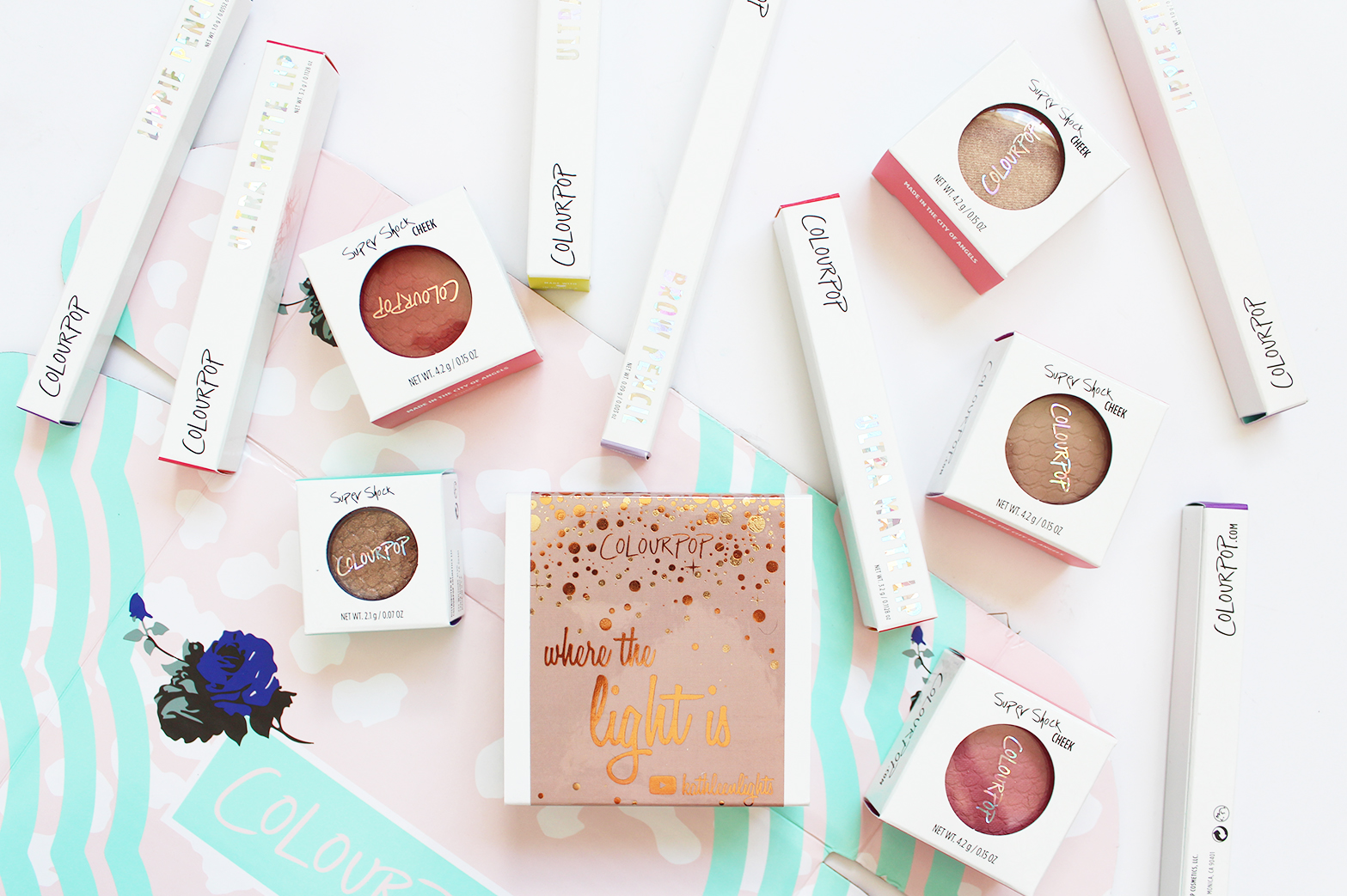 COLOURPOP | Haul, Swatches + First Impressions - CassandraMyee