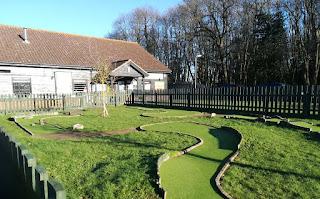 Mini Golf at Suffolk Leisure Park in Ipswich by Sophia Moles, February 2019