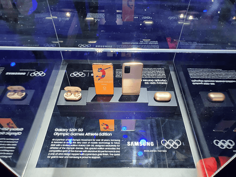 Samsung cancels the Galaxy S20+ 5G Olympic Games Athlete Edition