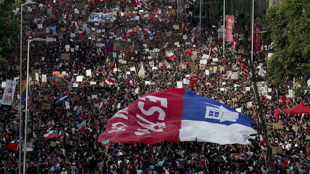 """Piñera sobre la enorme marcha en Chile: """"Todos hemos escuchado el mensaje y todos hemos cambiado"""""""