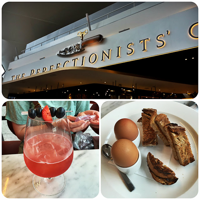 The Perfectionists' Cafe Boiled Eggs & Soldiers Summer Shrub