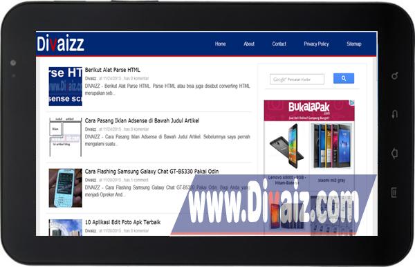 Samsung Galaxy Tab P1000 - www.divaizz.com