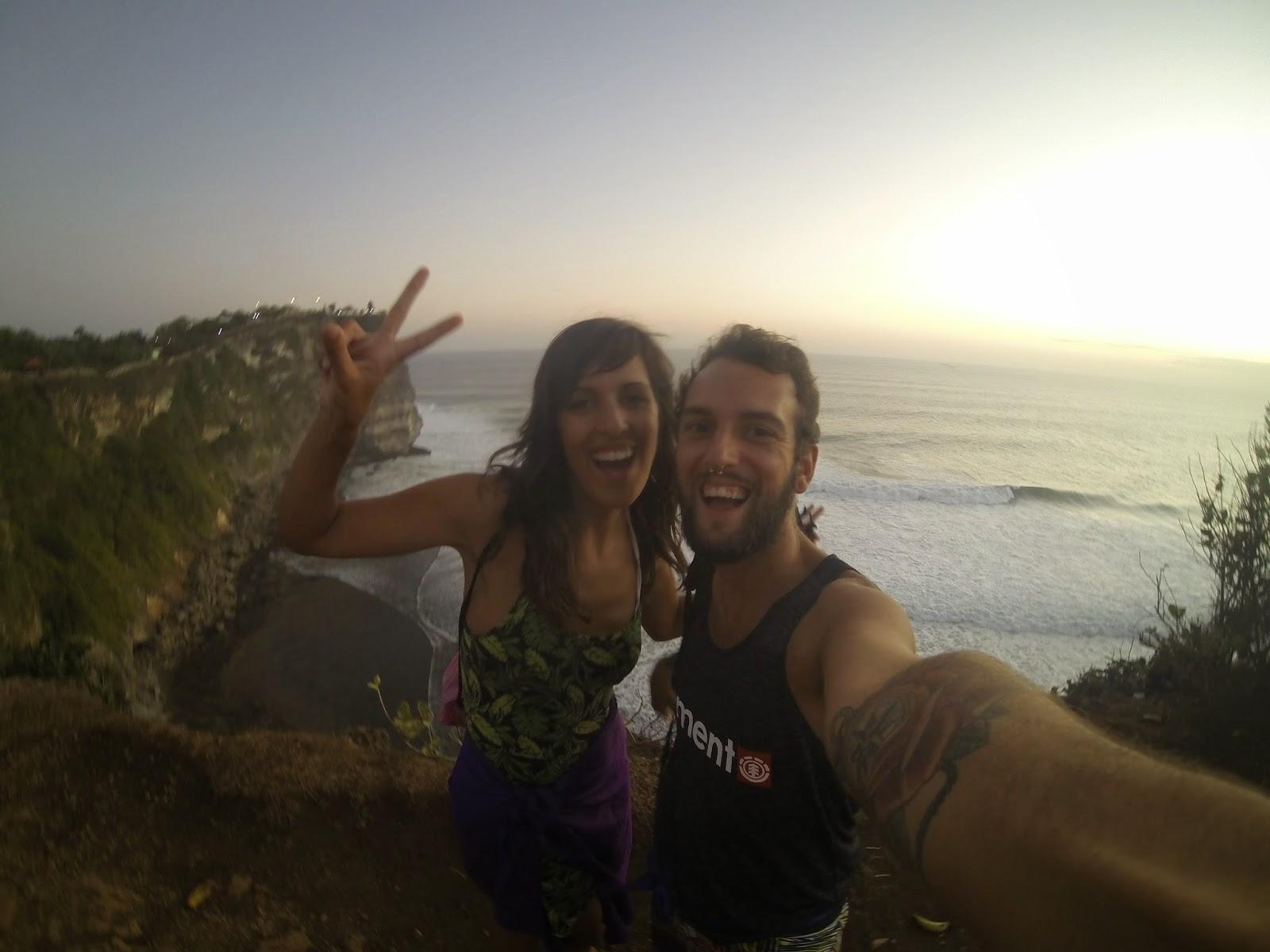 Sunset Uluwatu Selfie