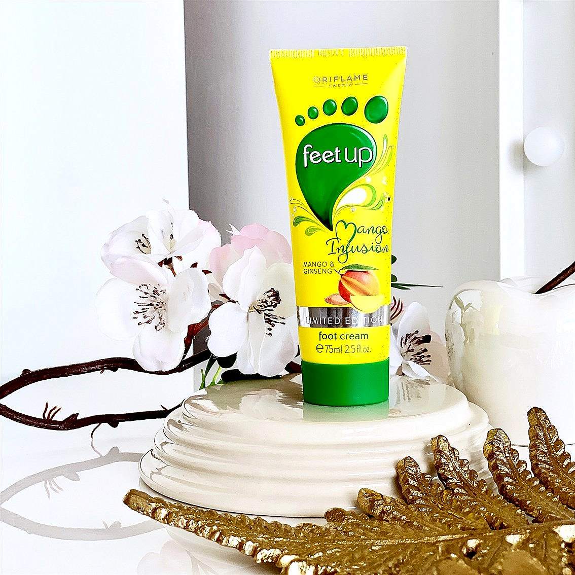 Oriflame Feet Up Mango Infusion opinie