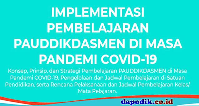 IMPLEMENTASI PEMBELAJARAN PAUDDIKDASMEN DI MASA PANDEMI COVID-19