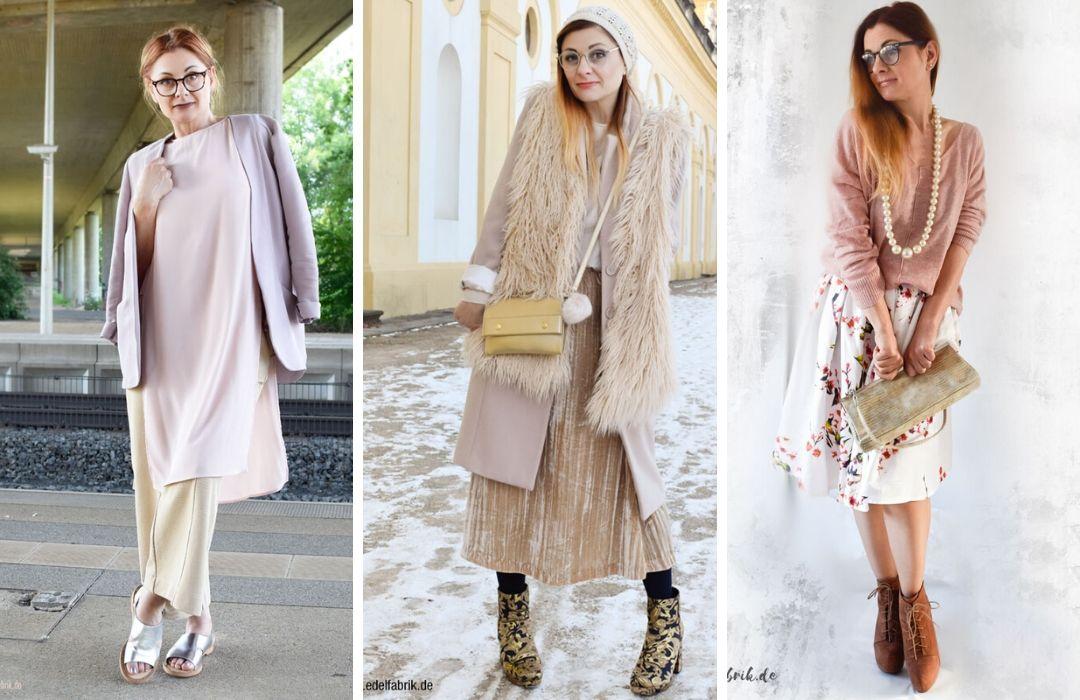 Rosa-mit-Beige-kombinieren-Outfits
