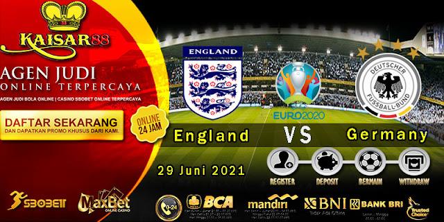 Prediksi Bola Terpercaya Piala Euro England vs Germany 29 juni 2021
