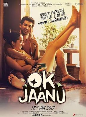 OK Jaanu 2017 Hindi DVDScr 400mb