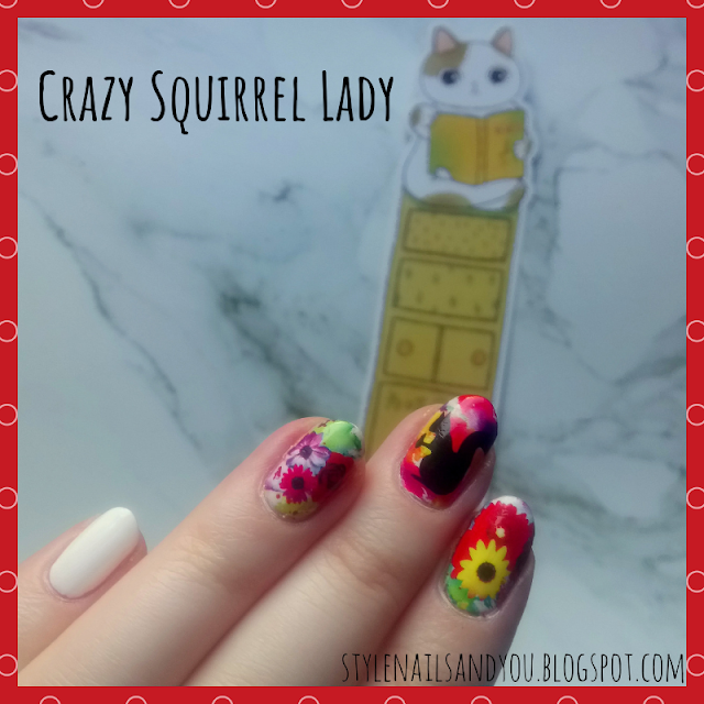 Crazy Squirrel Lady | Water Decals | Born Pretty Store Review