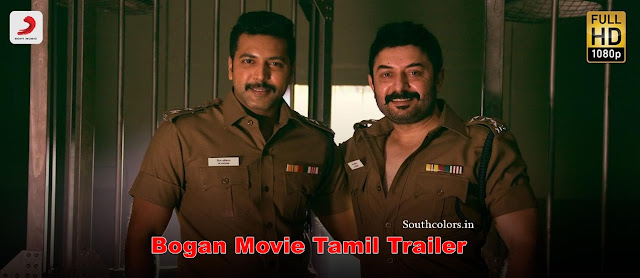 Bogan Movie Tamil Trailer | Jayam Ravi, Arvind Swami, Hansika