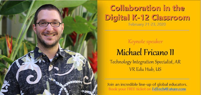 Digital K-12 Classroom Online Summit | Feb 21-23 | @EdTechnocation #CDCS20 @EdTech4Future