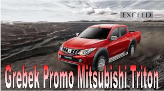 Promo Penjualan Mitsubishi Strada Triton