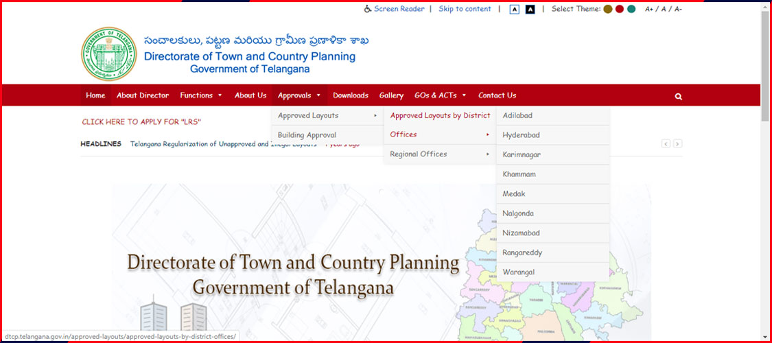 Directorate of Town and Country Planning (DTCP)