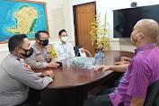 Kapolresta Mataram Sosialisasi Pengamanan Pandemi Covid-19 di Lingkungan Perkantoran