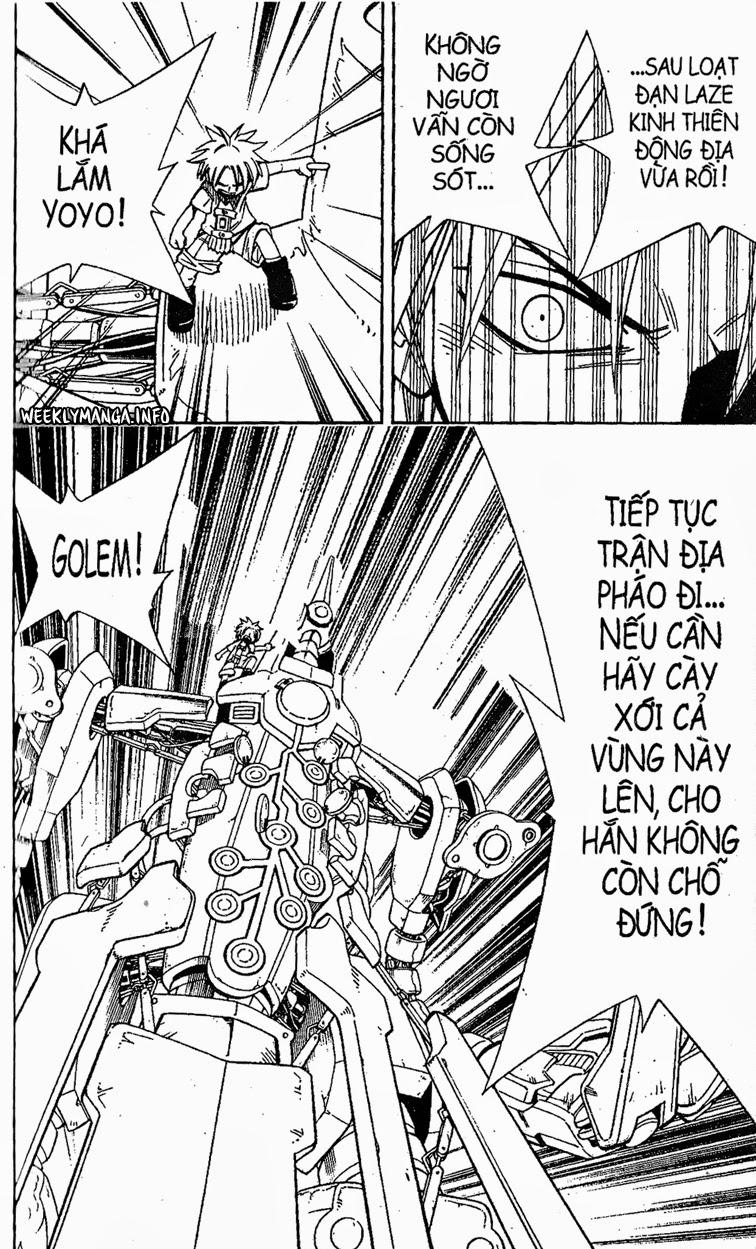 Shaman King [Vua pháp thuật] chap 193 trang 7