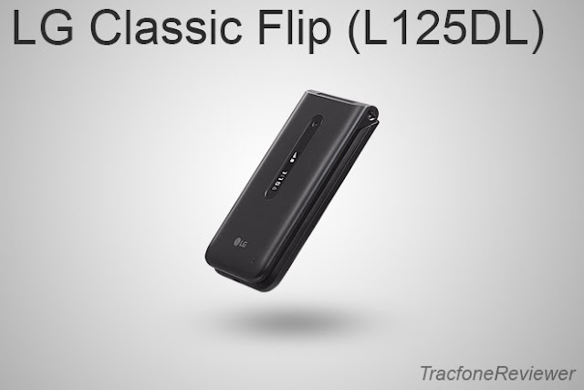 tracfone lg flip 125dl specs