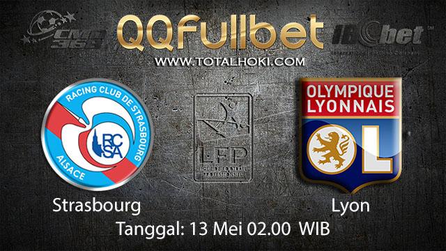 BOLA88 - PREDIKSI TARUHAN BOLA STRASBOURG VS LYON 13 MEI 2018 ( FRENCH LIGUE 1 )