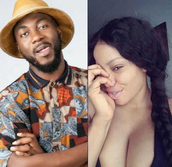 BBNaija: Bally Sucks Ese's Boobs