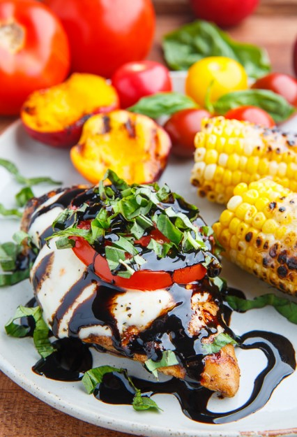 Caprese Balsamic Grilled Chicken