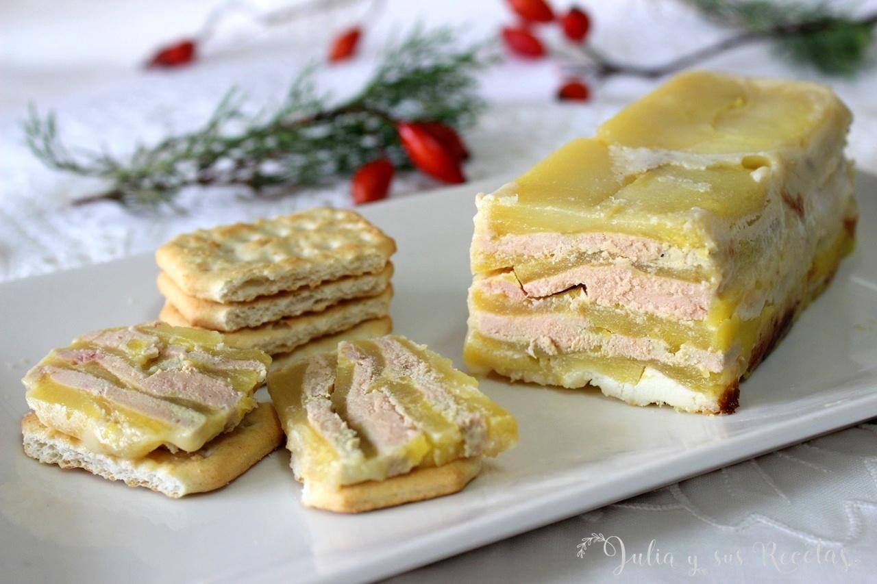 Cocinar Foie | Julia Y Sus Recetas Mil Hojas De Foie Y Manzana