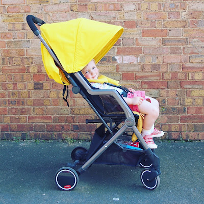 The Diono Traverse pushchair is great for travelling with