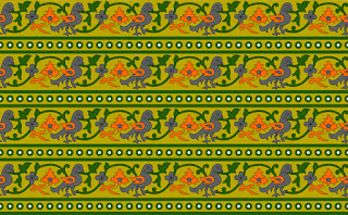 Traditional-illustration-indian-motif-textile-border-210035