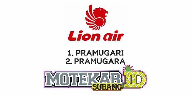 Info Lowongan Kerja Lion Air Group Maret 2021 - Motekar Subang