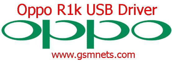 Oppo R1k USB Driver Download