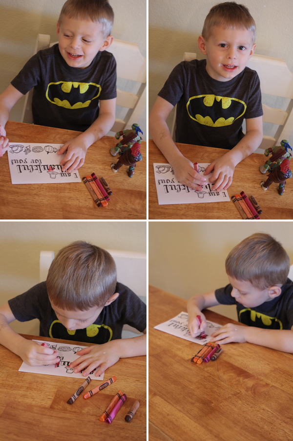 Teaching Toddler Thankfulness Activity