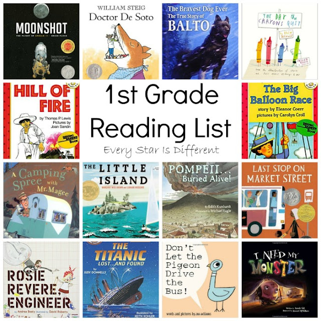 1st Grade Reading List