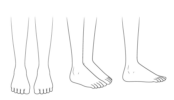 Gambar kaki sepatu bot anime