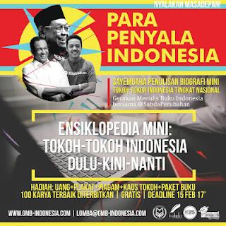 Lomba Penulisan Biografi Mini Tokoh Indonesia -  GMB Indonesia